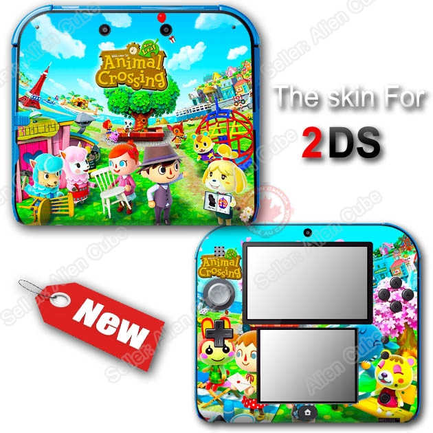 animal crossing new leaf amazing skin vinyl sticker decal cover for nintendo 2ds ebay. Black Bedroom Furniture Sets. Home Design Ideas