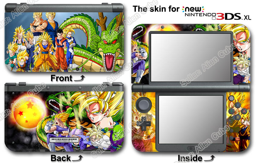 Dragon Ball Z Amazing Skin Sticker Decal Cover 10 For